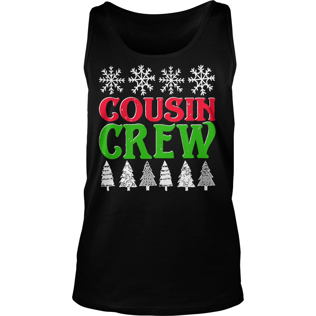 Matching Family Christmas Cousin Crew Unisex Tank Top