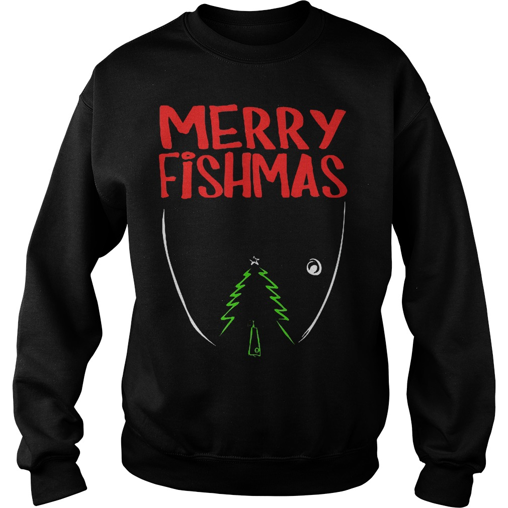 Merry Fishmas Sweater