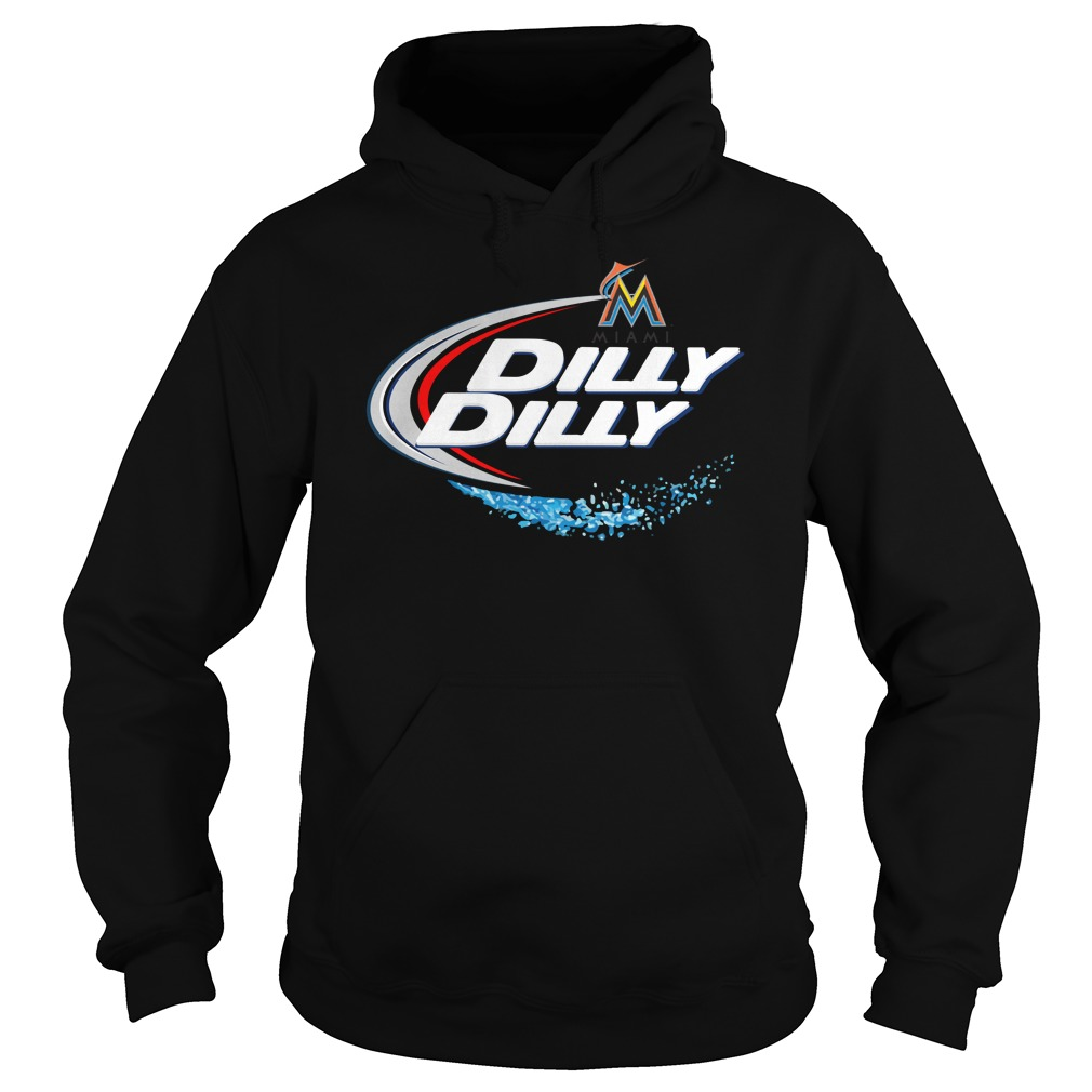 Miami Marlins Dilly Dilly Hoodie