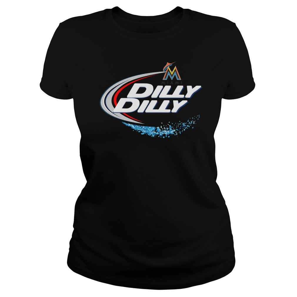 Miami Marlins Dilly Dilly Ladies Tee