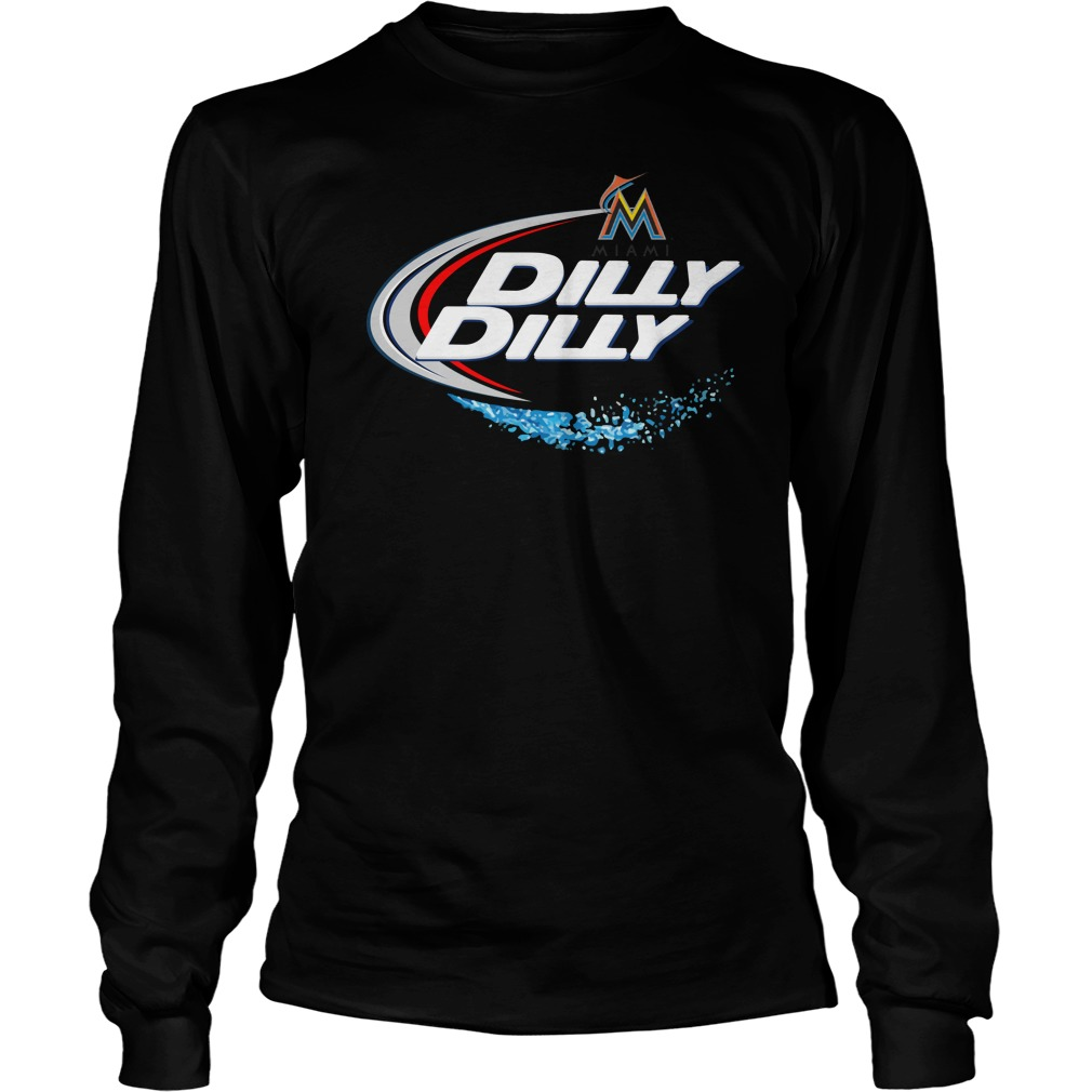 Miami Marlins Dilly Dilly Longsleeve Tee