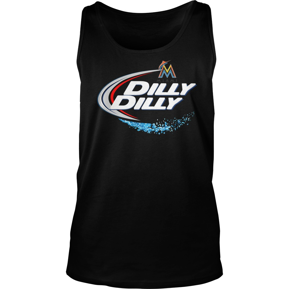 Miami Marlins Dilly Dilly Tank Top