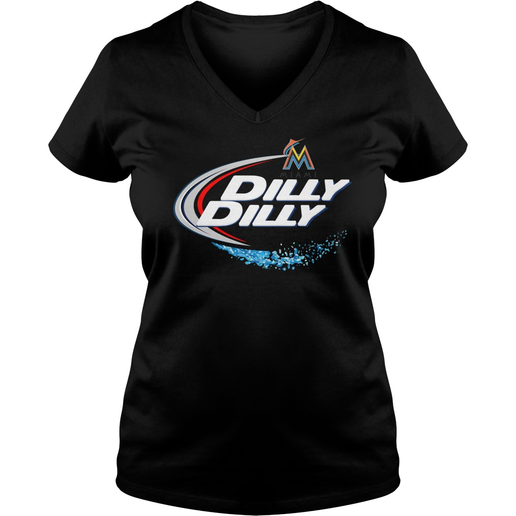 Miami Marlins Dilly Dilly V Neck
