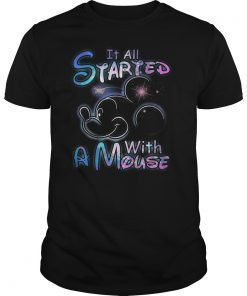 Mickey Mouse Started Mouse Shirt