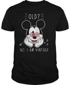 Mickey Old No Vintage Shirt