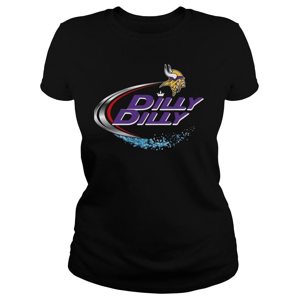Minnesota Vikings Dilly Dilly Ladies Tee
