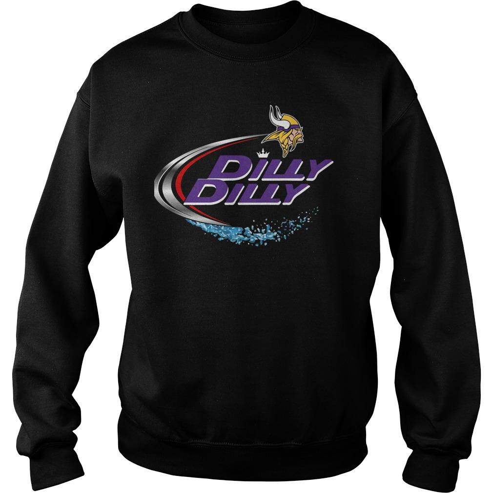 Minnesota Vikings Dilly Dilly Sweat Shirt