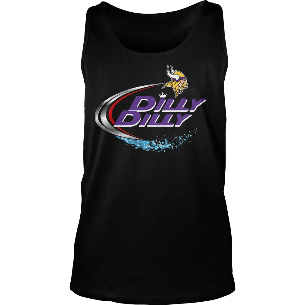 Minnesota Vikings Dilly Dilly Tank Top