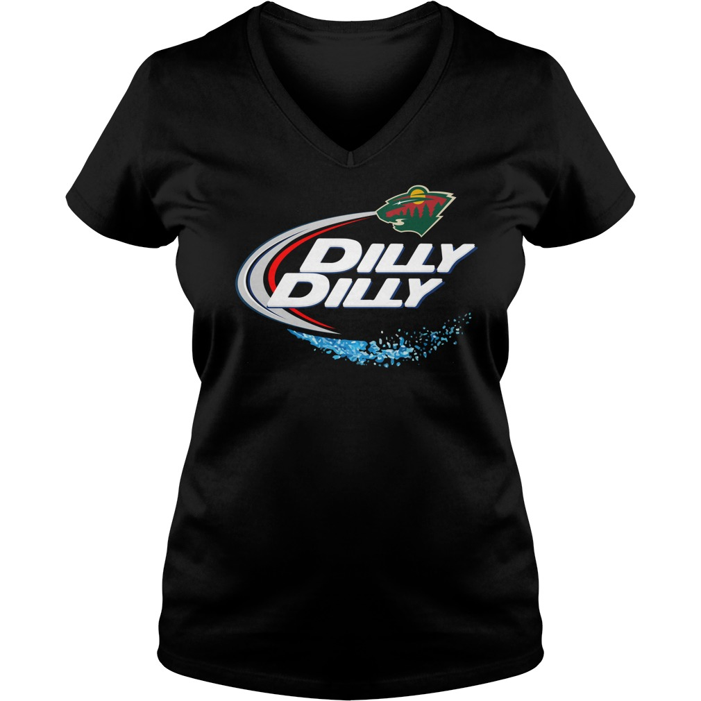 Minnesota Wild Dilly Dilly V Neck