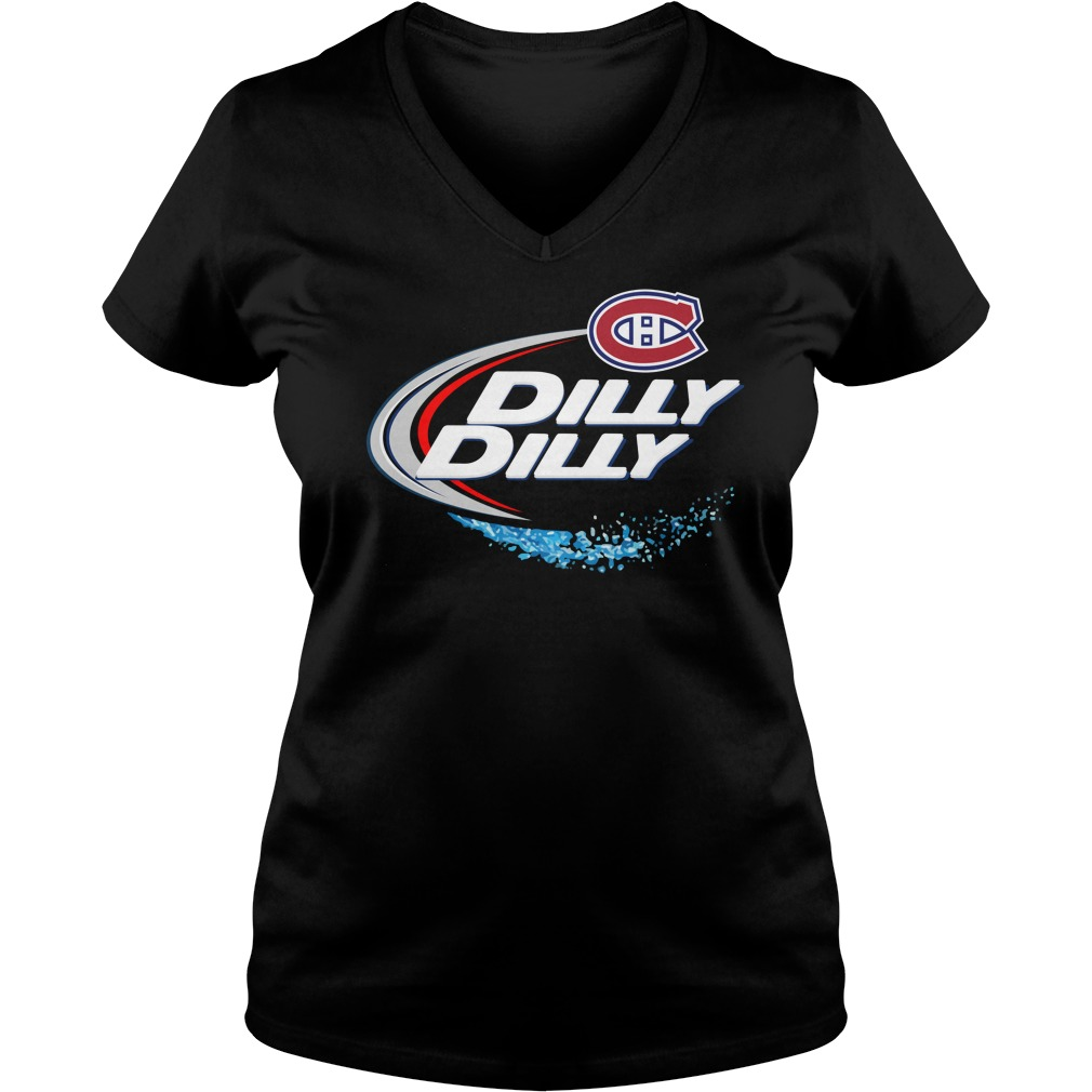 Montreal Canadiens Dilly Dilly V Neck