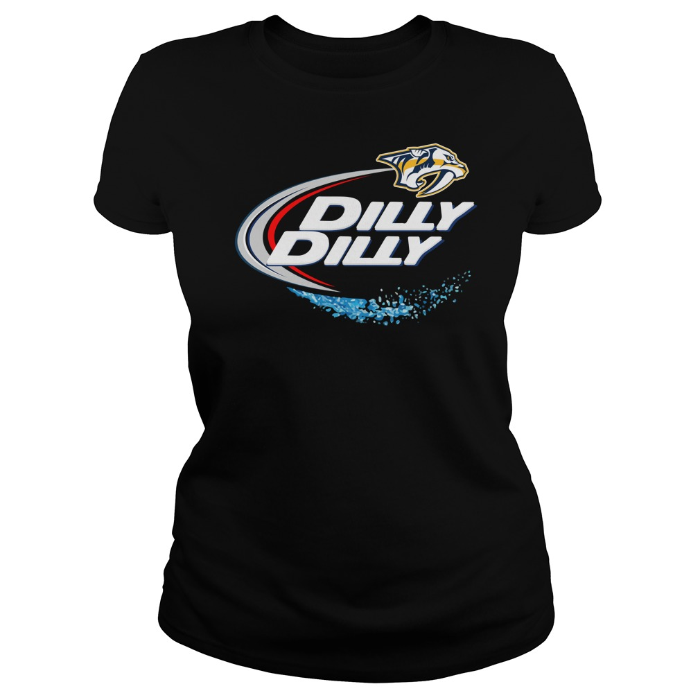 Nashville Predators Dilly Dilly Ladies Tee