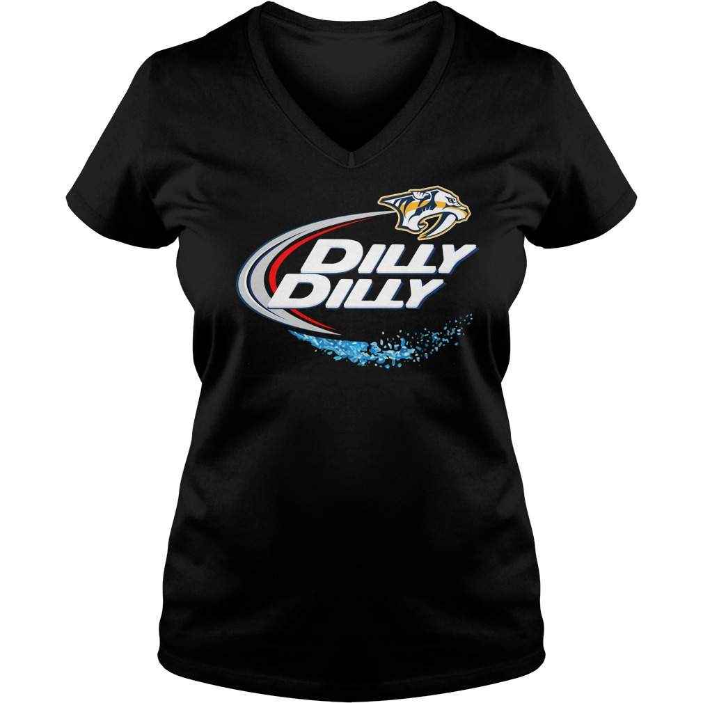 Nashville Predators Dilly Dilly V Neck
