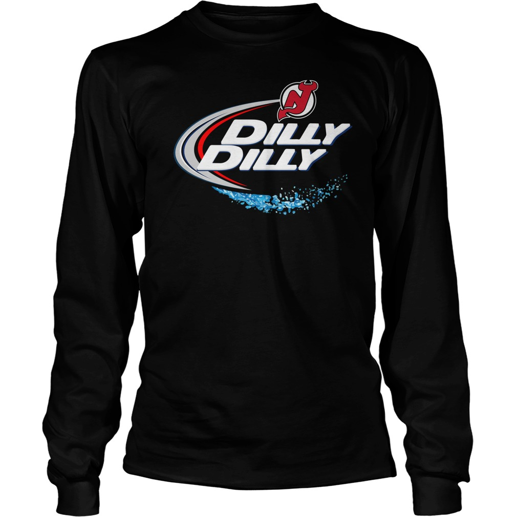 New Jersey Devils Dilly Dilly Longsleeve Tee