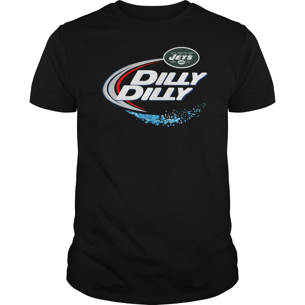 New York Jets Dilly Dilly Guys Tee