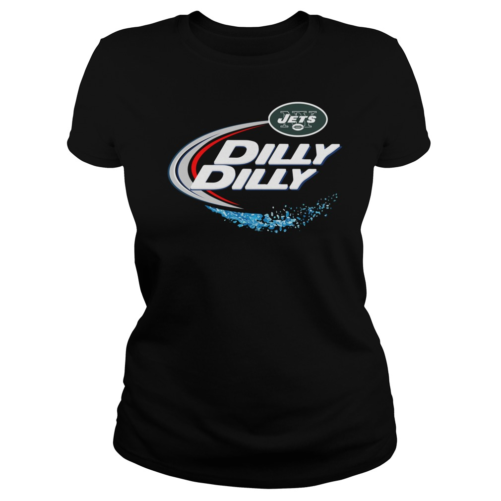 New York Jets Dilly Dilly Ladies Tee