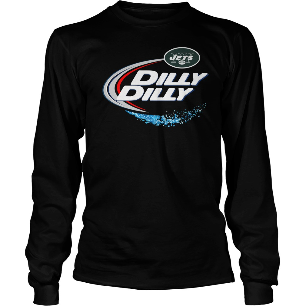 New York Jets Dilly Dilly Unisex Longsleeve Tee