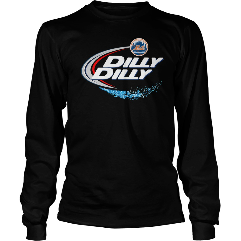 New York Mets Dilly Dilly Unisex Longsleeve Tee