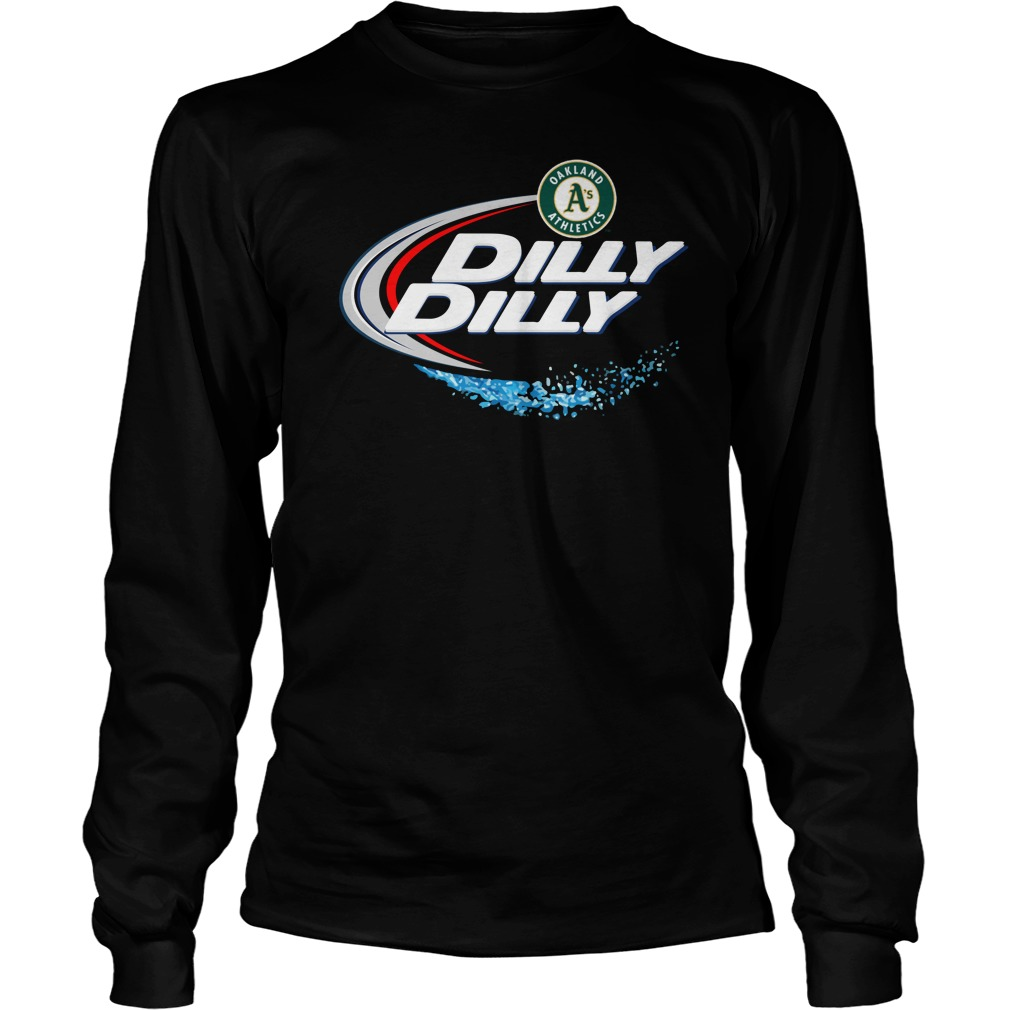 Oakland Athletics Dilly Dilly Unisex Longsleeve Tee