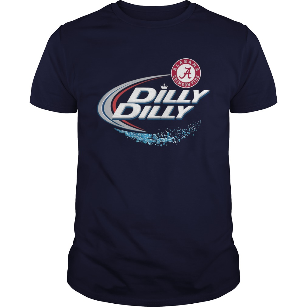 Official Alabama Crimson Tide Dilly Dilly Shirt