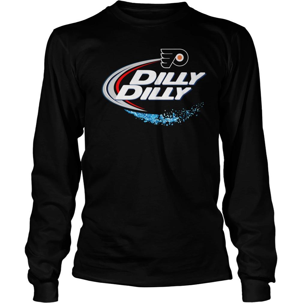 Philadelphia Flyers Dilly Dilly Longsleeve Tee
