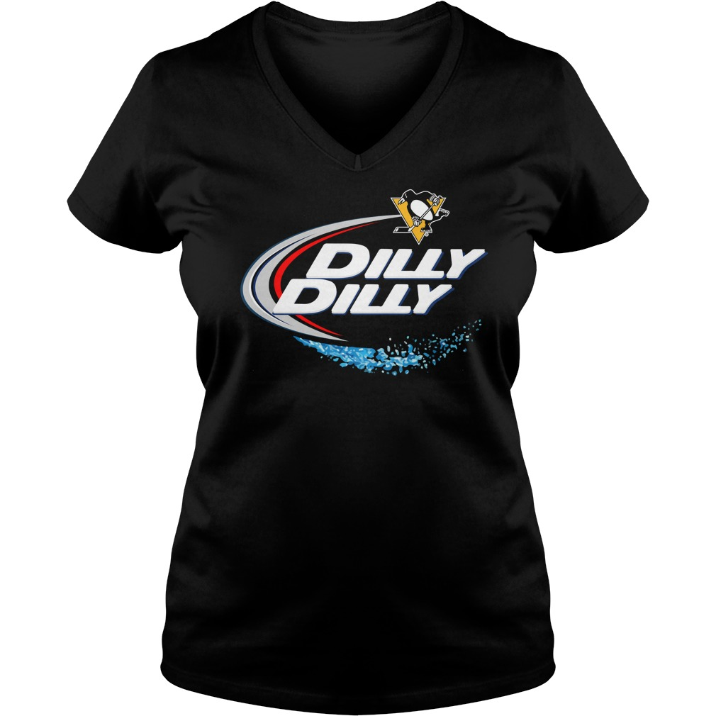 Pittsburgh Penguins Dilly Dilly V Neck