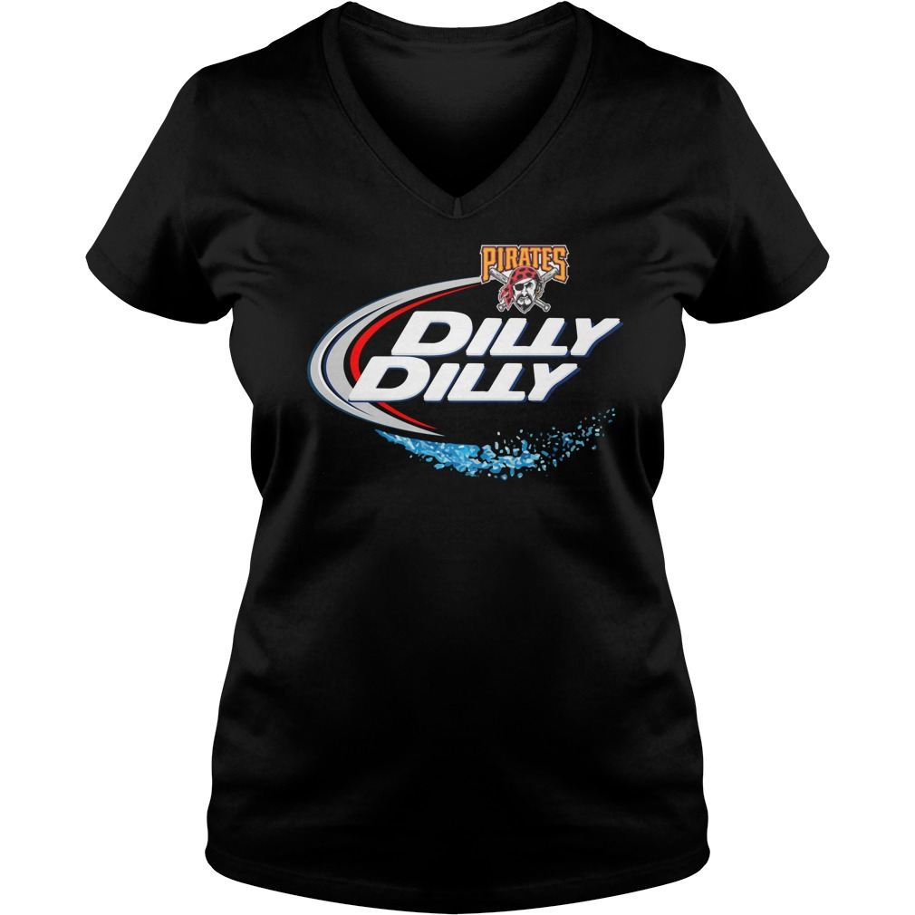 Pittsburgh Pirates Dilly Dilly Ladies V Neck