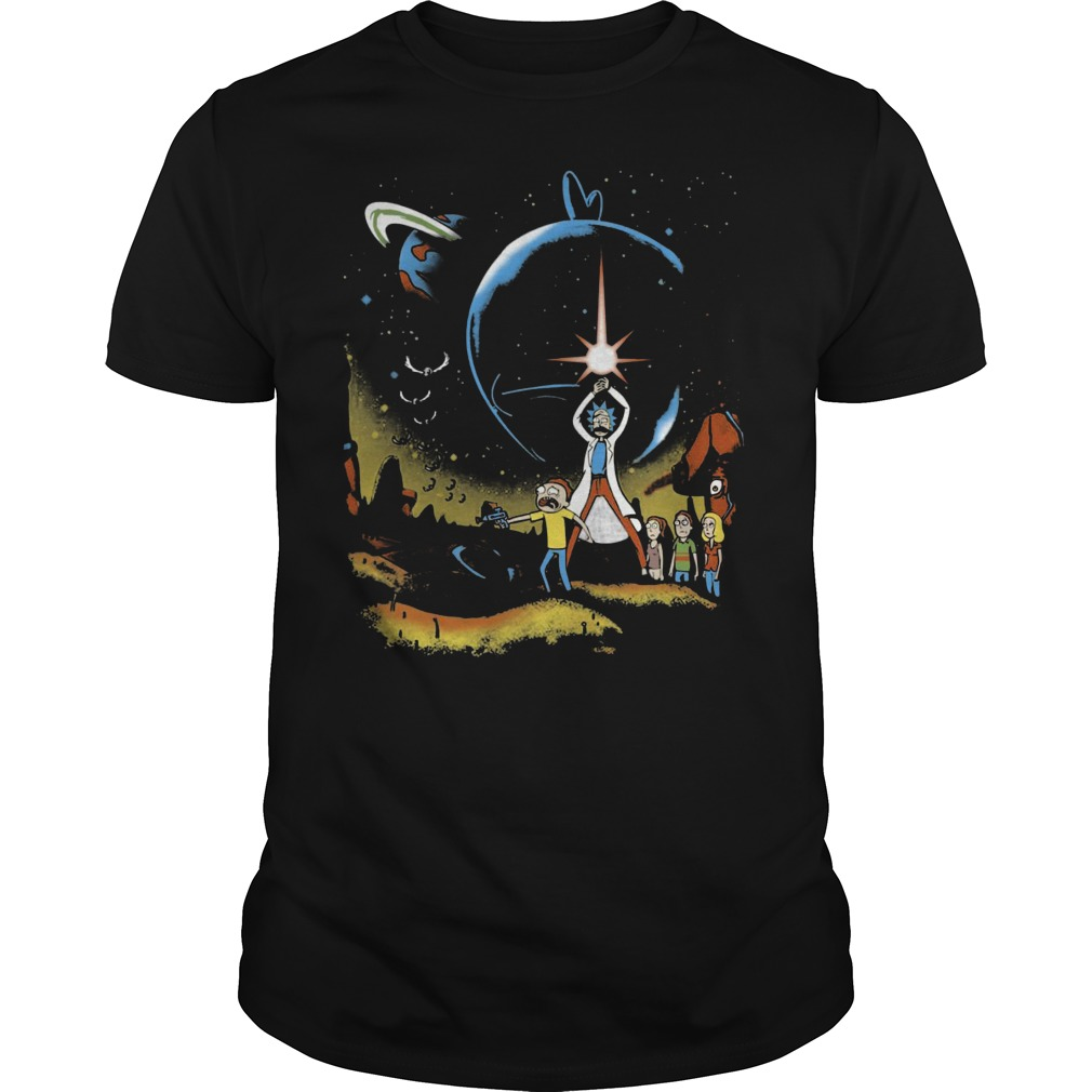 Rick Morty Multiverse Wars Shirt