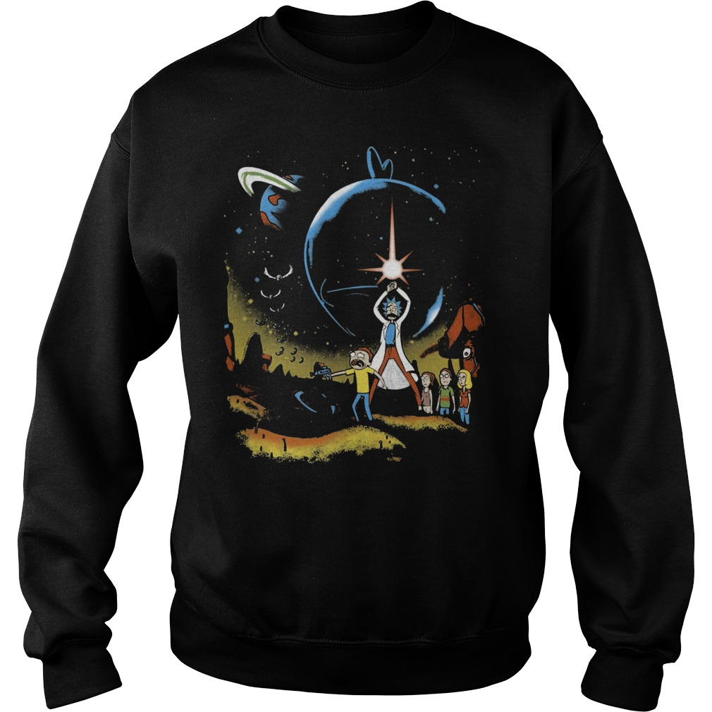 Rick Morty Multiverse Wars Sweater