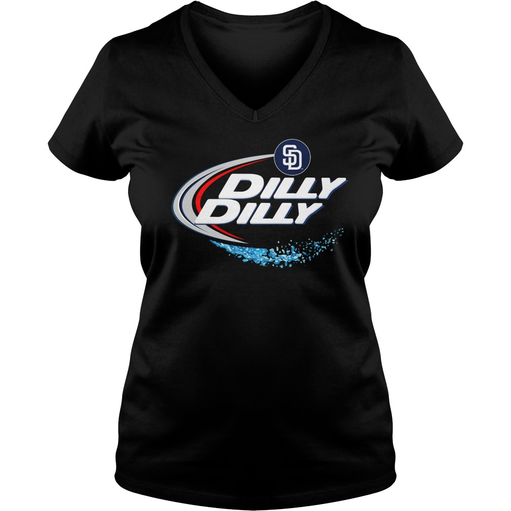 San Diego Padres Dilly Dilly Ladies V Neck