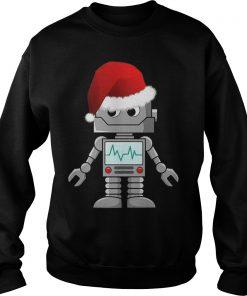 Santa Robot Sweat Shirt