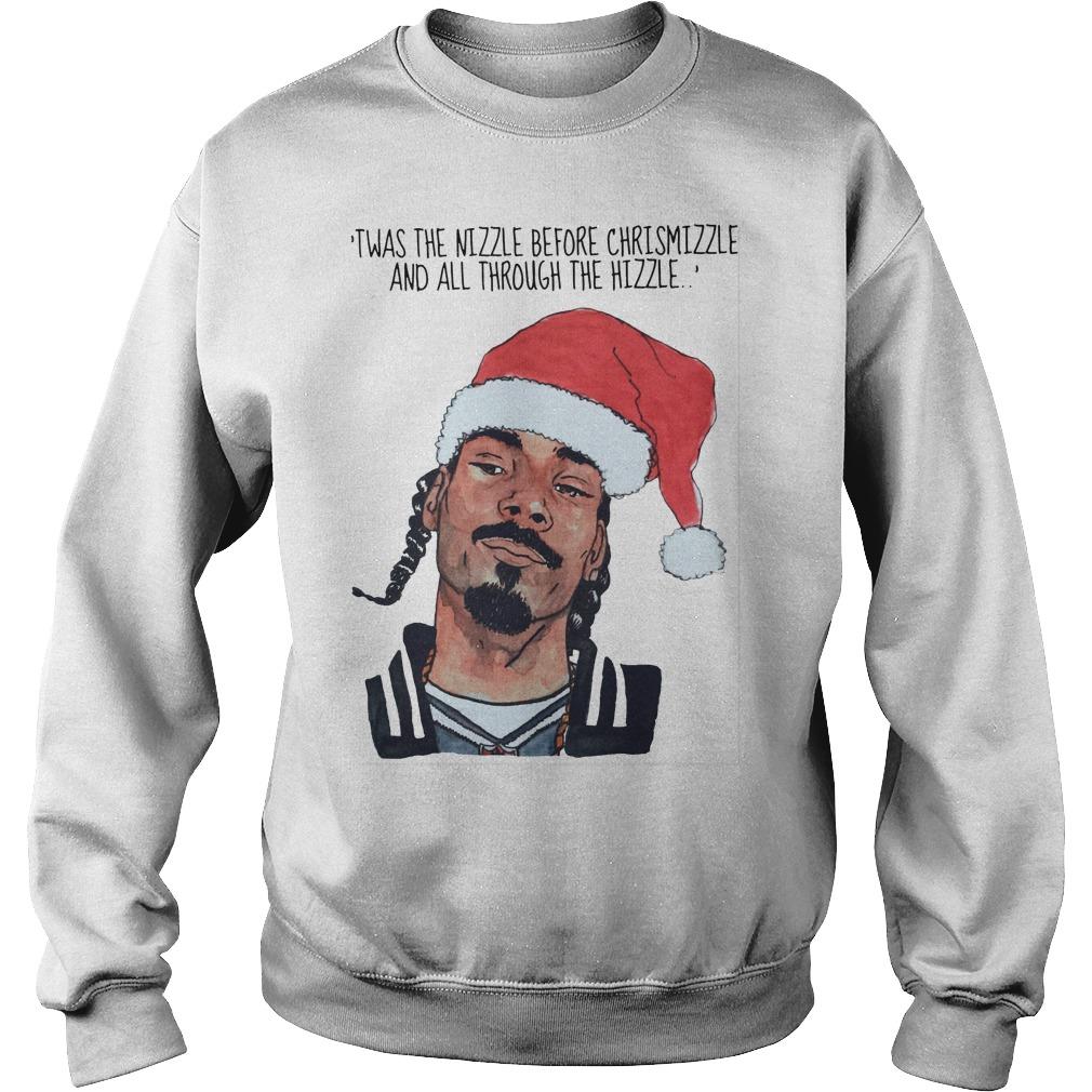 Snoop Dogg Twas Nizzle Christmizzle Sweat Shirt