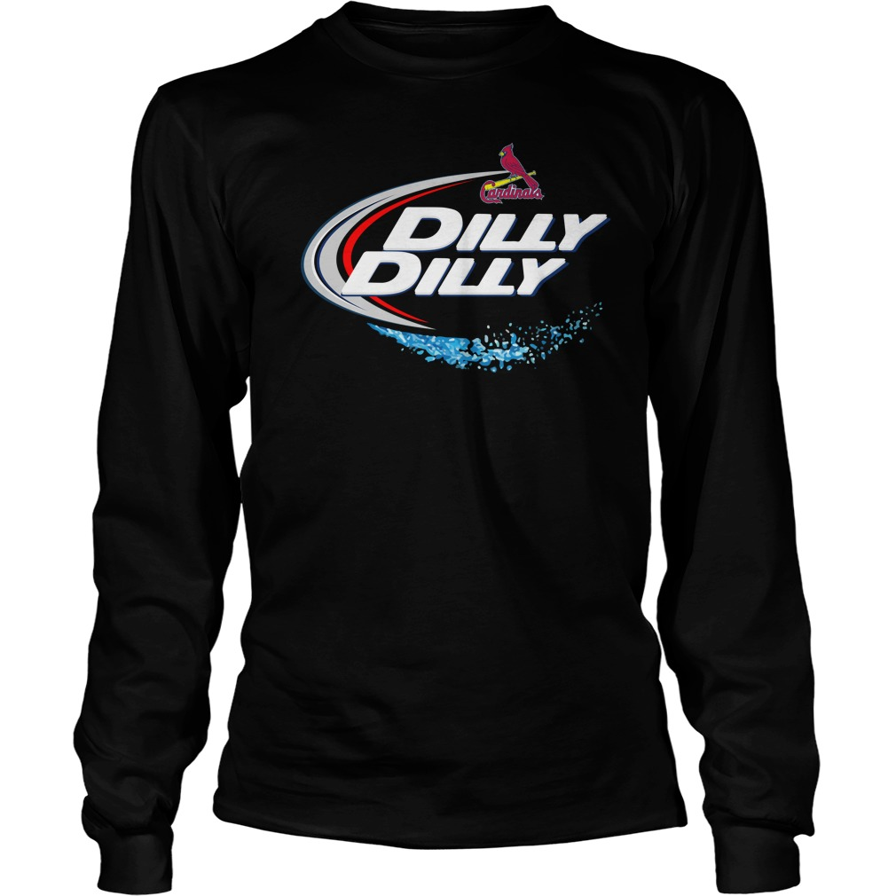 St Louis Cardinals Dilly Dilly Unisex Longsleeve Tee
