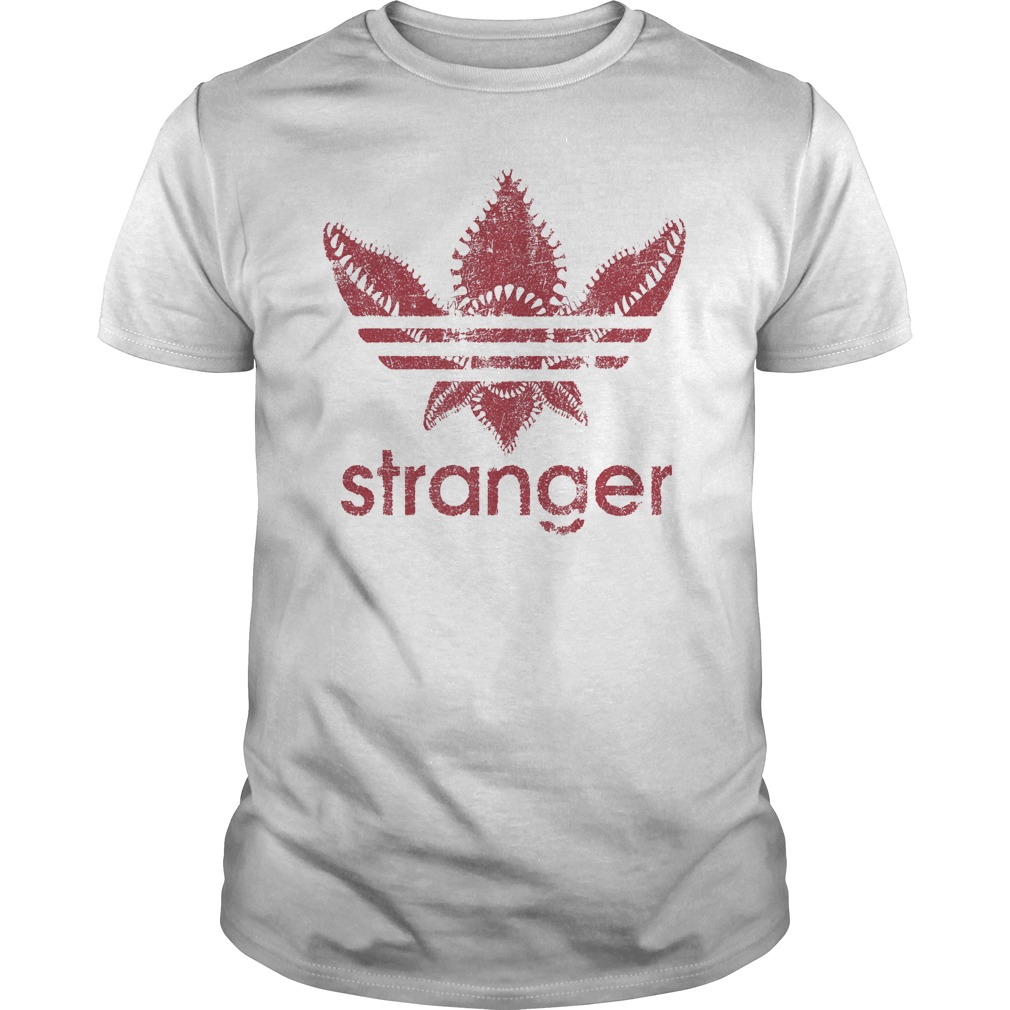 Stranger things adidas logo shirt, hoodie, sweater, longsleeve