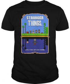 Stranger Things Mario Bros 2 Pixel Guys Tee