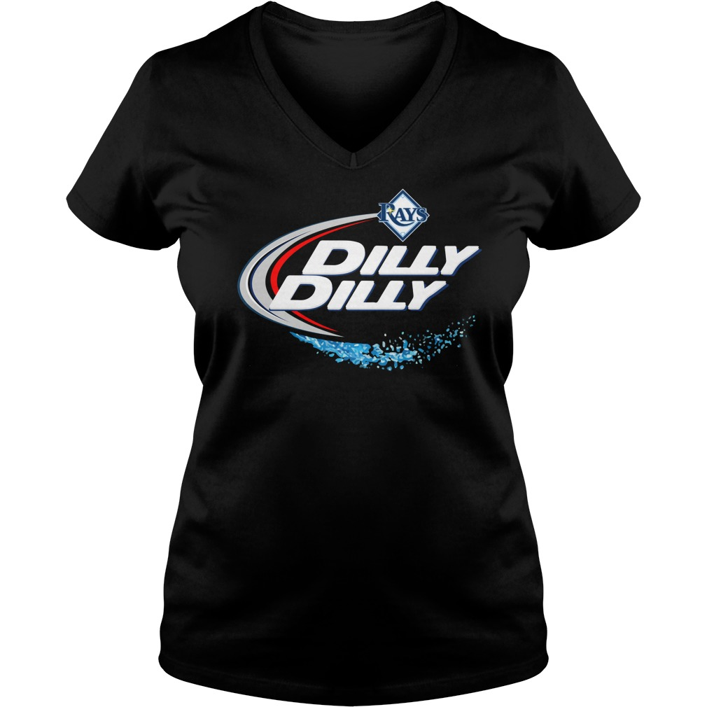 Tampa Bay Rays Dilly Dilly Ladies V Neck