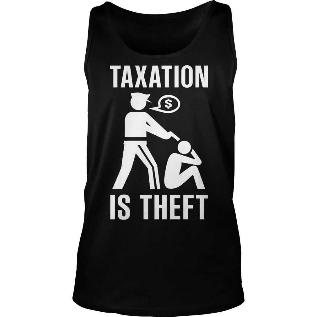 Taxation Theft Unisex Tank Top