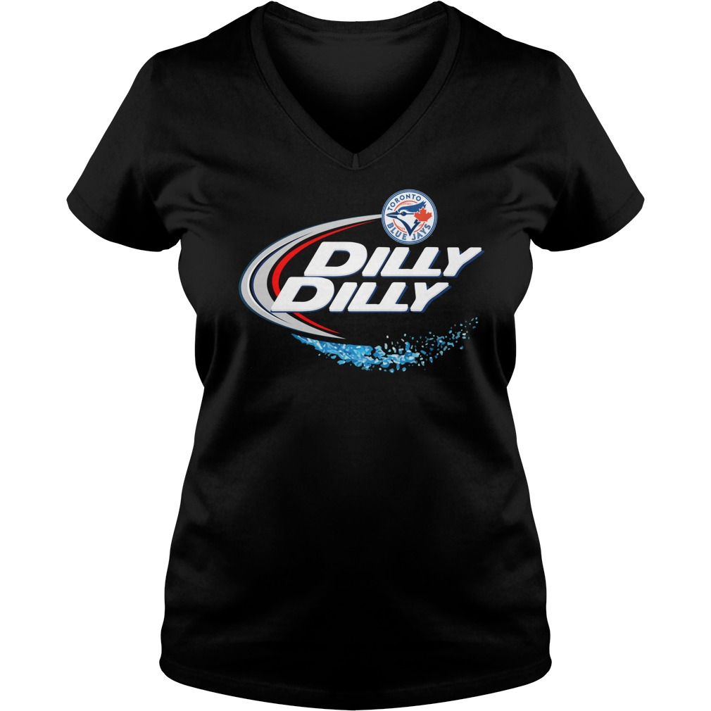 Toronto Blue Jays Dilly Dilly Ladies V Neck