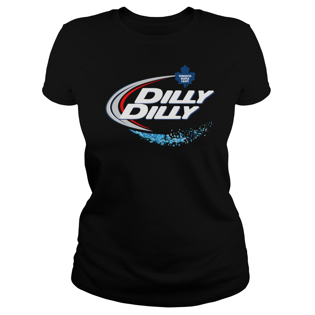 Toronto Maple Leafs Dilly Dilly Ladies Tee