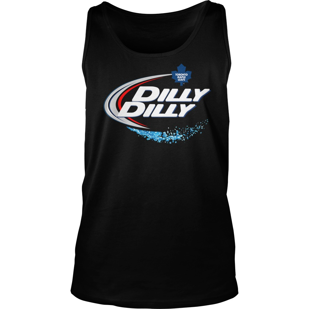 Toronto Maple Leafs Dilly Dilly Tank Top