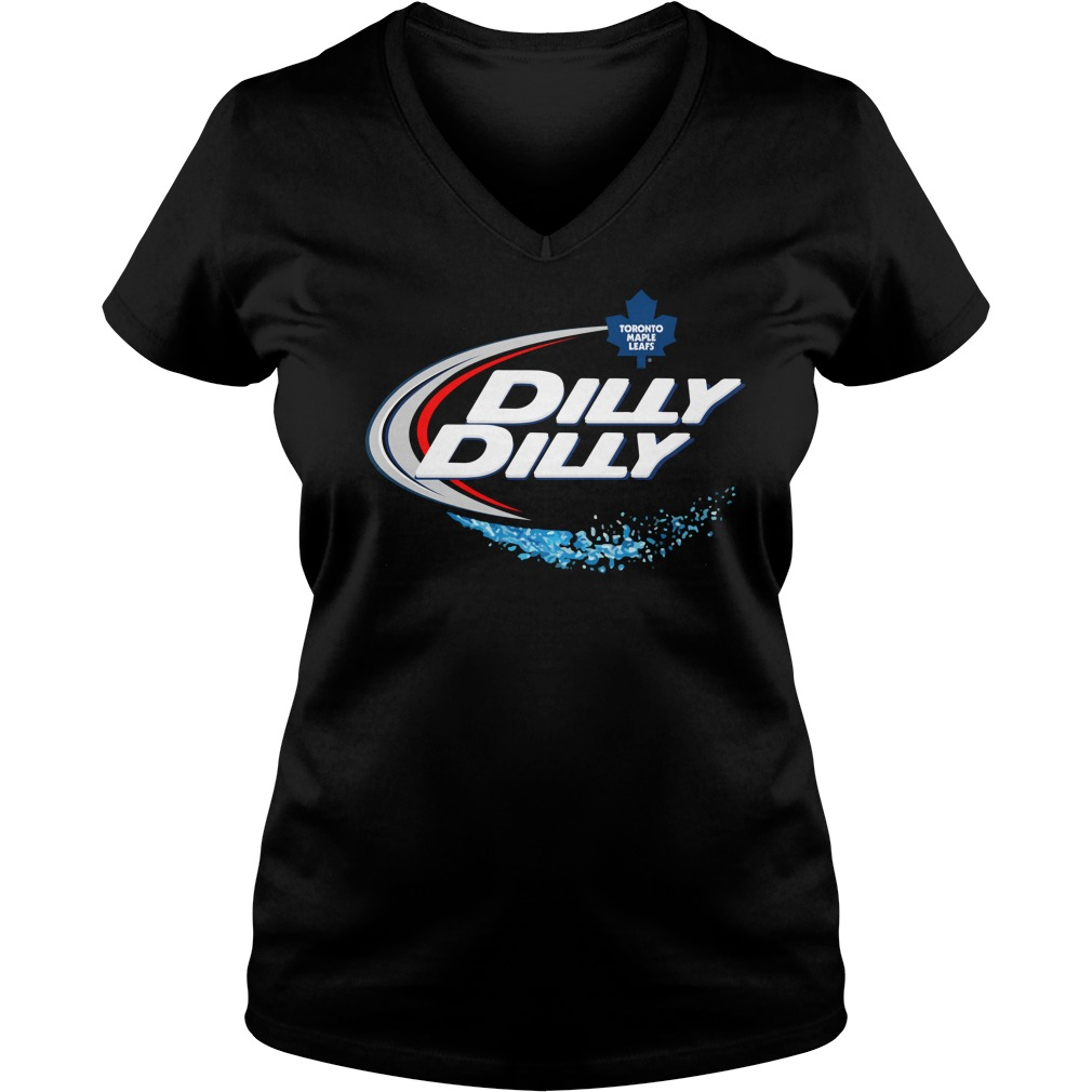 Toronto Maple Leafs Dilly Dilly V Neck