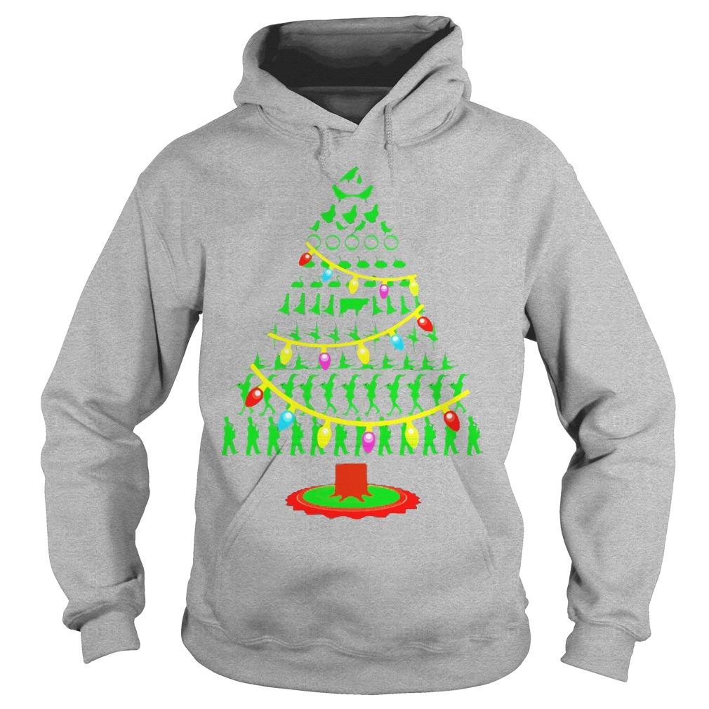 Twelve Days Christmas Tree Hoodie