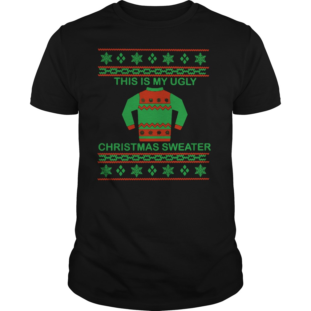 Ugly Christmas Guys Tee