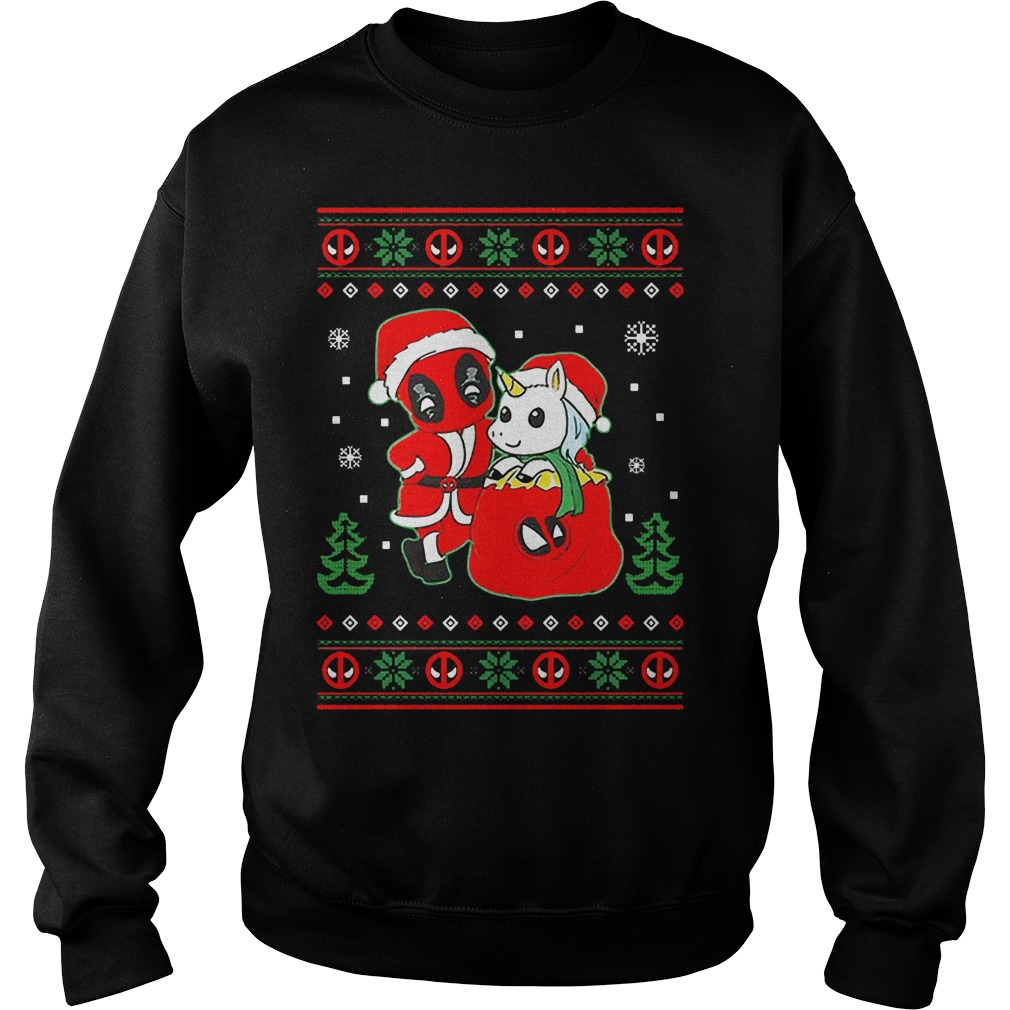 Deadpool Christmas Sweater  Deadpool Christmas Sweater