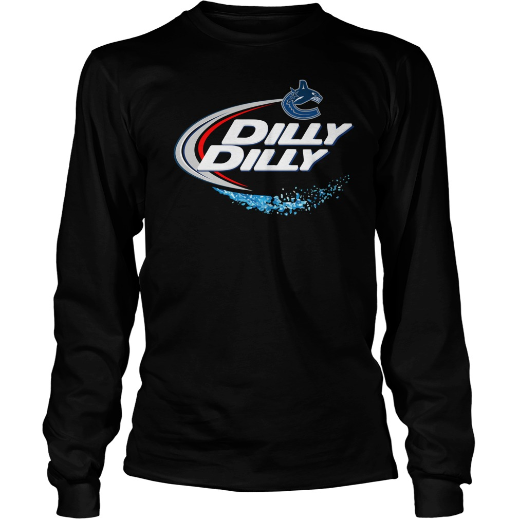 Vancouver Canucks Dilly Dilly Longsleeve Tee