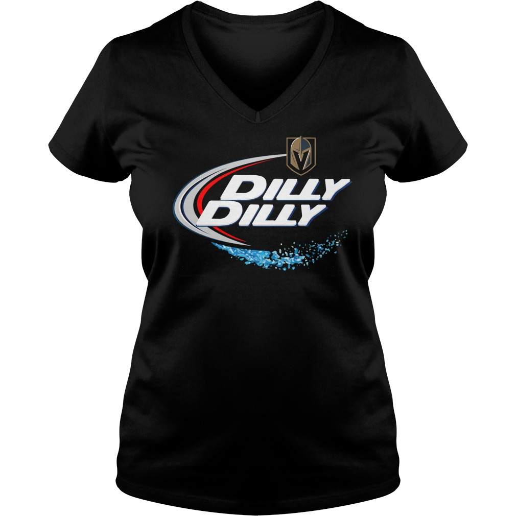 Vegas Golden Knights Dilly Dilly V Neck