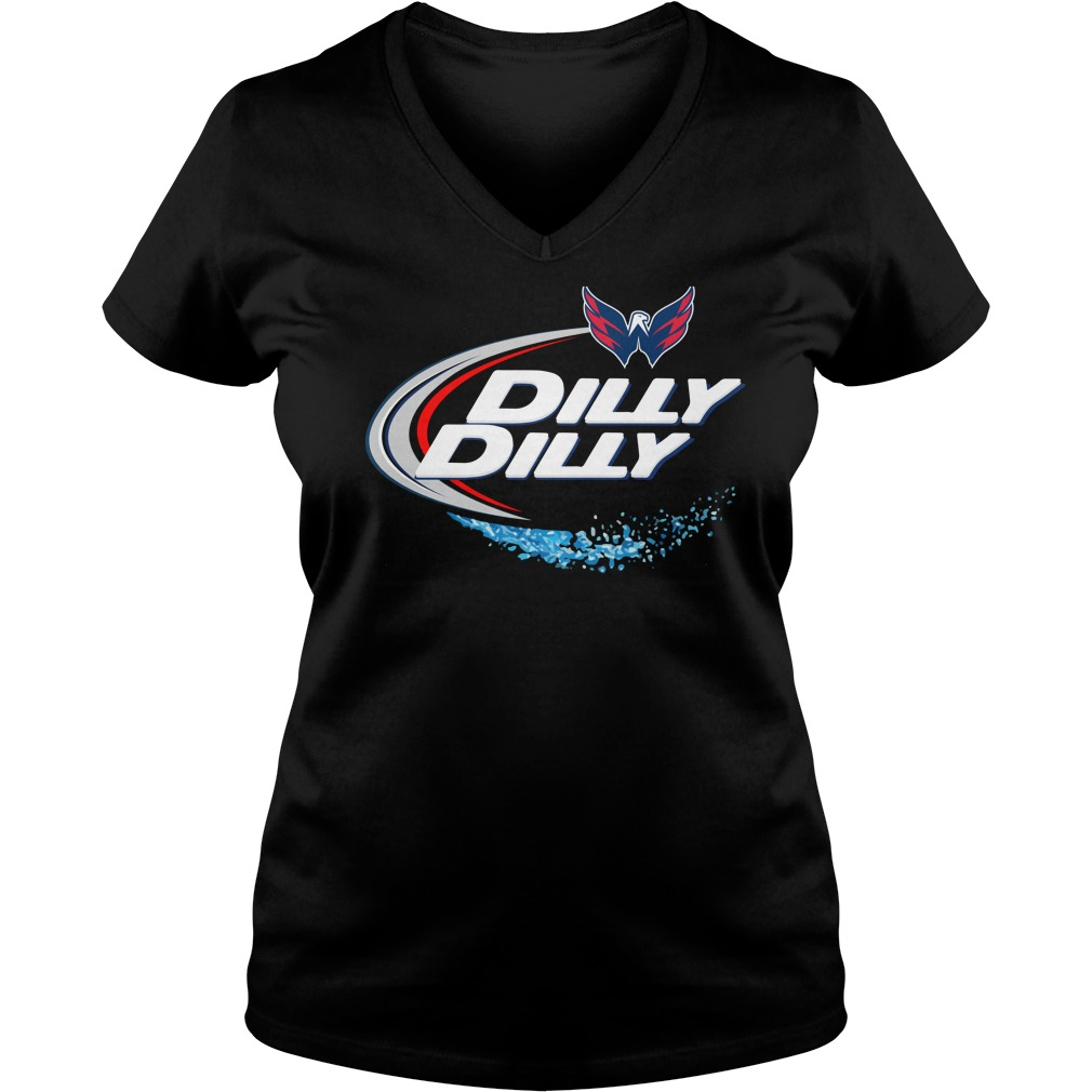 Washington Capitals Dilly Dilly V Neck
