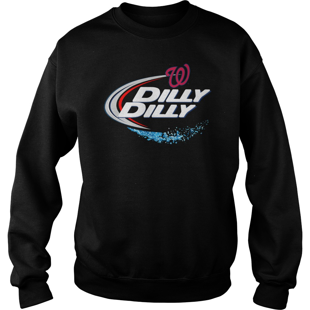 Washington Nationals Dilly Dilly Sweat Shirt