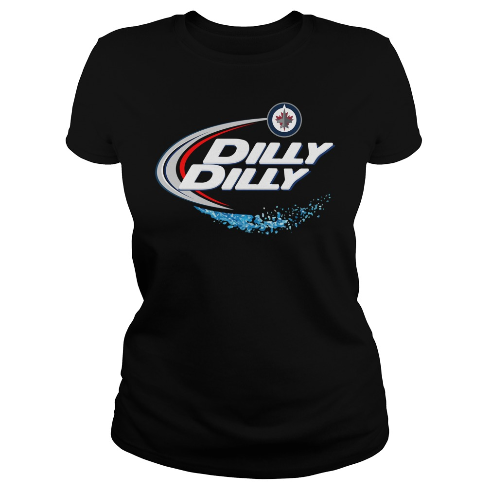 Winnipeg Jets Dilly Dilly Ladies Tee