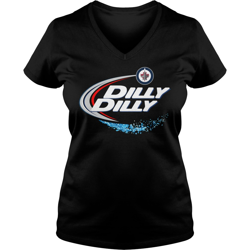 Winnipeg Jets Dilly Dilly V Neck