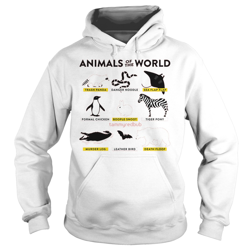 Animals Of The World Hoodie